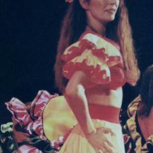 Monique aime le Flamenco depuis toujours