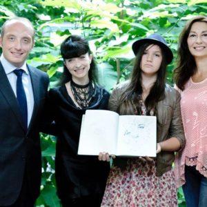 Remise du prix Ciaravola 2013 pour Ariakina Ettori