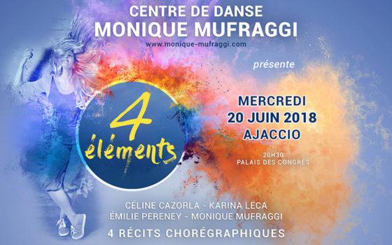 Affiche du Gala de Danse du 20 juin 2018