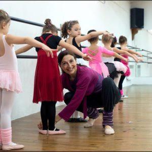 Apprendre la danse dès l'âge de 4 ans