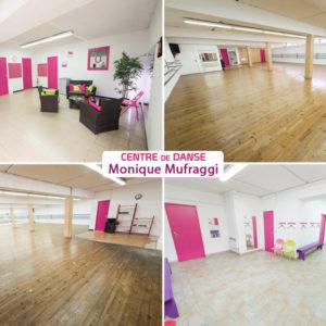 Nouvelle décoration intérieure du centre de danse